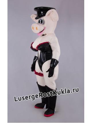 """Ростовая кукла """"Свинья танцовщица"""""""