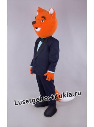 """Ростовая кукла """"Лис в костюме"""""""