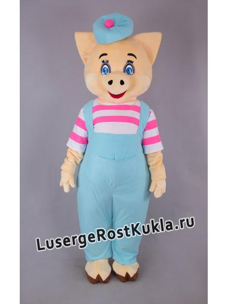 """Ростовая кукла """"Поросенок в беретке"""""""