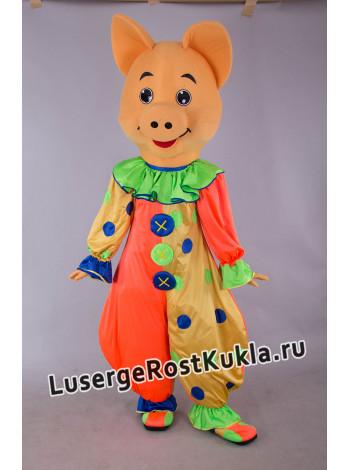 "Ростовая кукла ""Хрюша Клоун"""