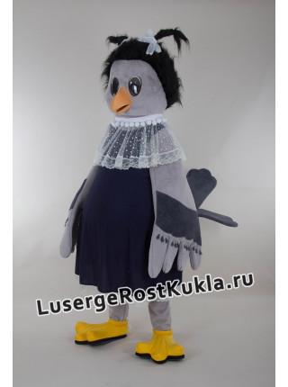 """Ростовая кукла """"Каркуша (ворона)"""""""