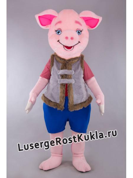 """Ростовая кукла """"Степка розовый"""""""