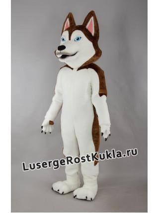 """Ростовая кукла """"Хаски коричневый"""""""