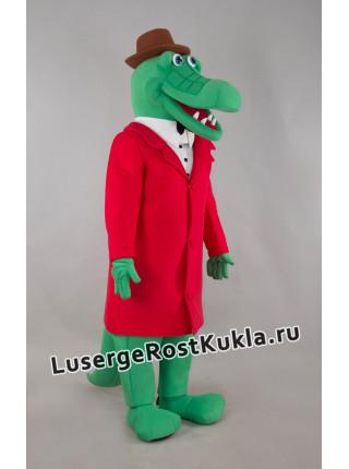 """Ростовая кукла """"Крокодил Гена новый"""""""