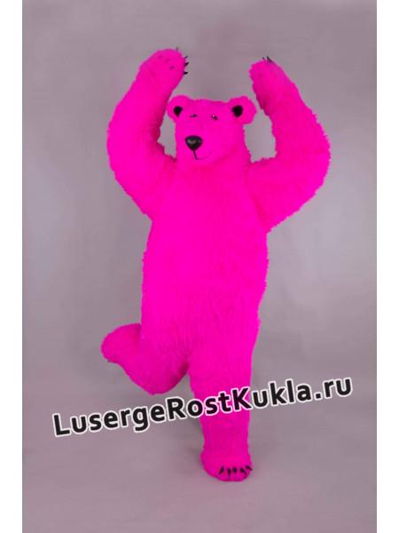"""Ростовая кукла """"Розовый медведь"""""""
