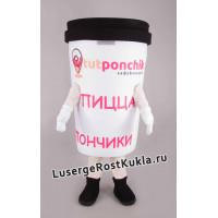 """Ростовая кукла """"Кофе с собой"""""""