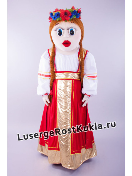 "Ростовая кукла ""Девочка Аленушка"""