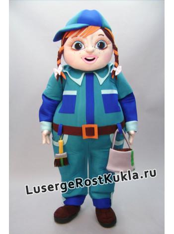 """Ростовая кукла """"Девочка маляр"""""""
