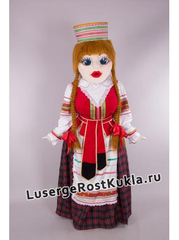 """Ростовая кукла """"Девушка Злата"""""""