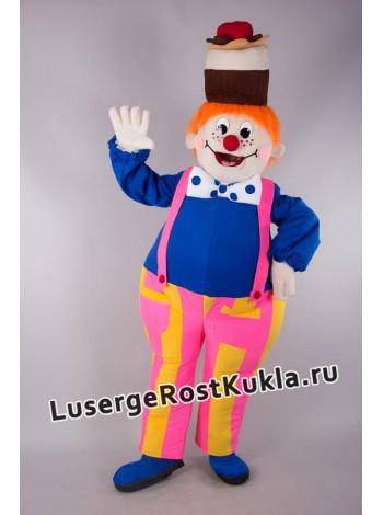 """Ростовая кукла """"Клоун Пирожка"""""""