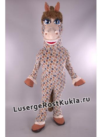 """Ростовая кукла """"Конь в яблоках"""""""
