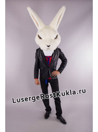 """Ростовая кукла  """" Кролик Крези (голова) """""""