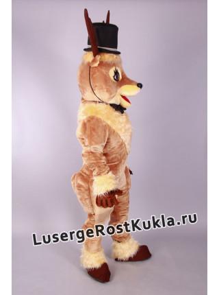 """Ростовая кукла """"Олень в цилиндре """""""