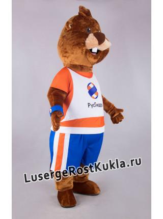 """Ростовая кукла """"Бобер с челкой"""""""