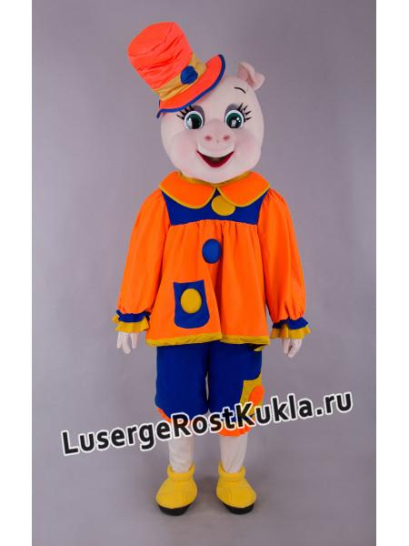 """Ростовая кукла """"Свинка-Клоун"""""""