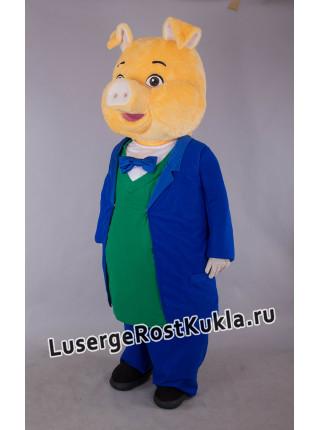 """Ростовая кукла """"Добрый свин"""""""