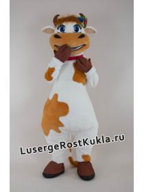 """Ростовая кукла """"Корова рыжая"""""""