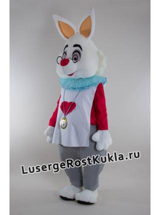 """Ростовая кукла """"Кролик с часами"""""""