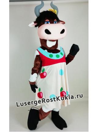 "Ростовая кукла ""Корова Ромашка"""