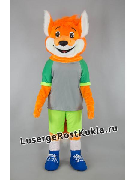 """Ростовая кукла """"Лисенок Спортсмен"""""""