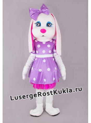 "Ростовая кукла ""Зайка Ми белая"""