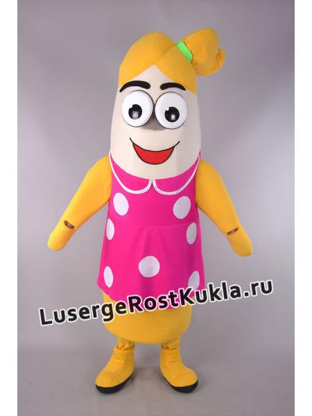 "Ростовая кукла ""Банан девочка"""