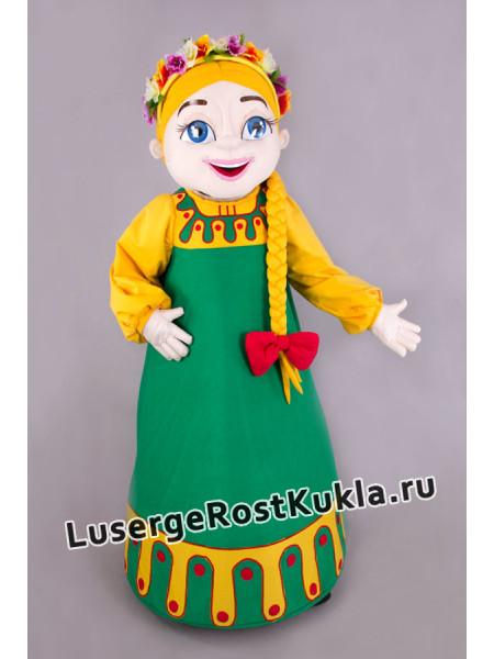 """Ростовая кукла """"Живинка с косой"""""""