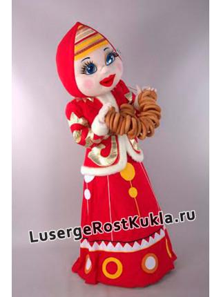 """Ростовая кукла """"Девушка Масленица"""""""