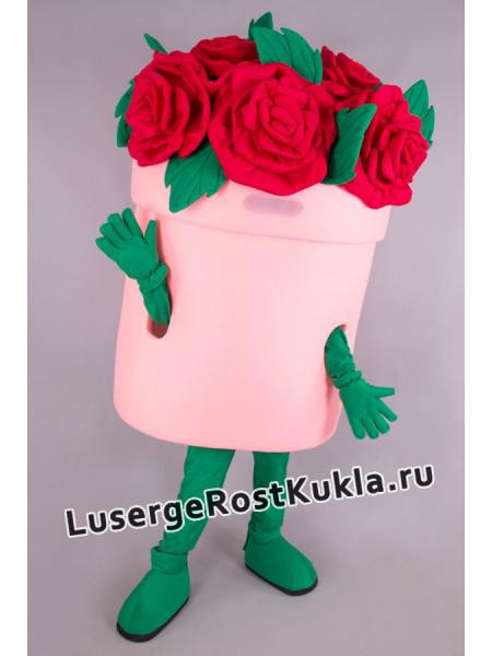 """Ростовая кукла """"Коробка с розами"""""""