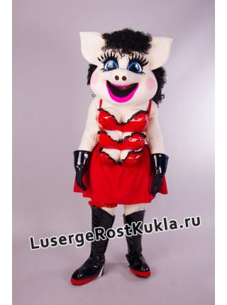 "Ростовая кукла ""Свинка Гламур"""